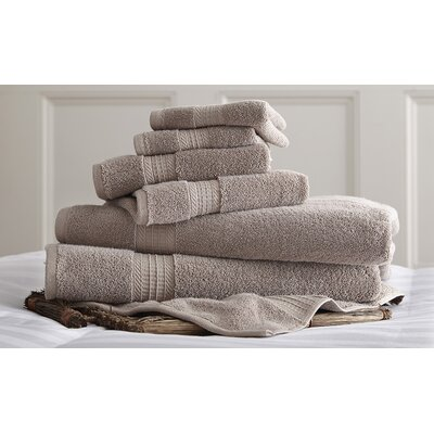 Bishopsworth 6 Piece Towel Set Color: Taupe
