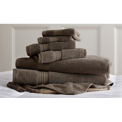 Bishopsworth 6 Piece Towel Set Color: Mocha