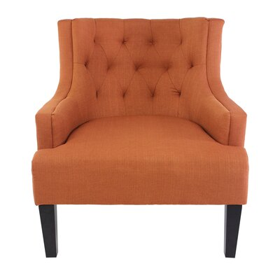 Callahan Lounge Chair Upholstery: Klein Henna