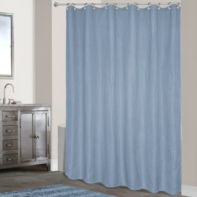 Powhatan Shower Curtain Color: Blue