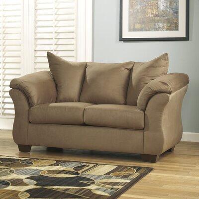 Huntsville Loveseat Upholstery: Mocha