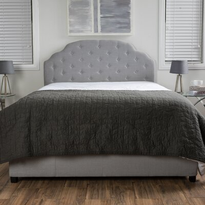 Broadview Upholstered Platform Bed Size: Queen