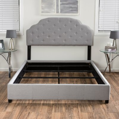 Lyndhurst Upholstered Platform Bed Size: King