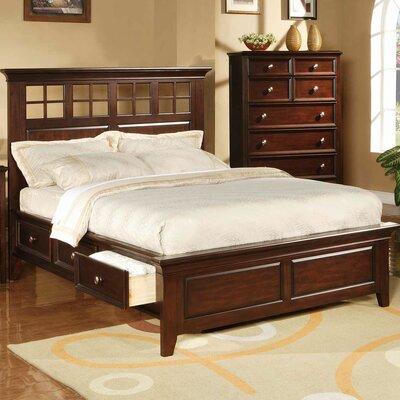 Inglewood Storage Platform Bed Size: King, Finish: Chocolate