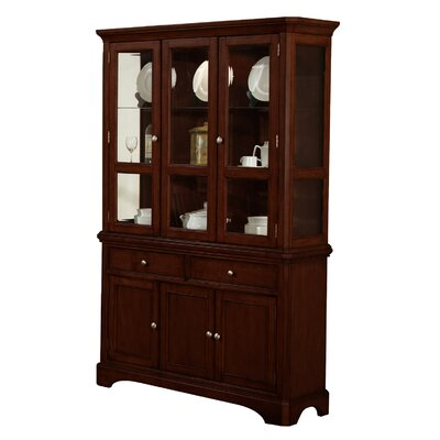 Harpster Lighted China Cabinet