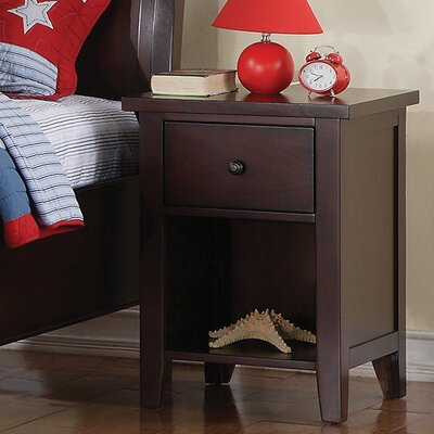 Blackwell 1 Drawer Nightstand Finish: Cherry