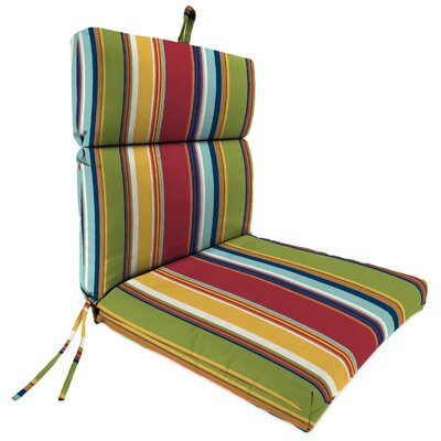 Dining Chair Cushion Fabric: Westport Garden
