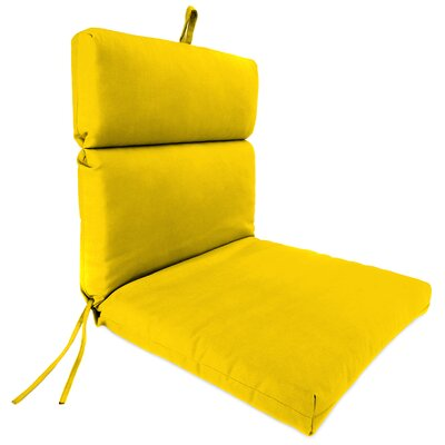 Dining Chair Cushion Fabric: Veranda Lemon