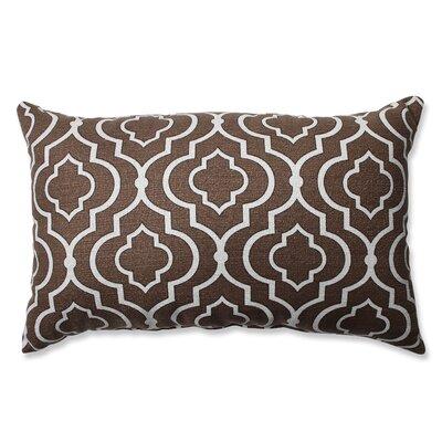 Golde Cotton Throw Pillow Color: Chocolate