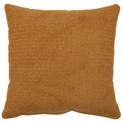 Redman Knife Edge Throw Pillow Color: Chestnut
