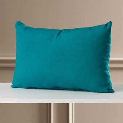 Briggs Outdoor Lumbar Pillow Fabric: Fresco Peacock