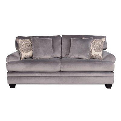 Leesburg Sofa Upholstery: Smoke