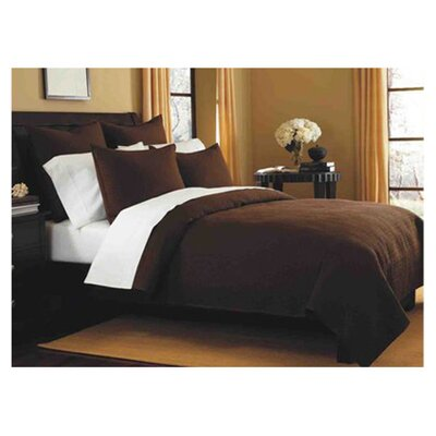 Spurling Hill Classic Cotton Quilt Size: King, Color: Coffee Stripe