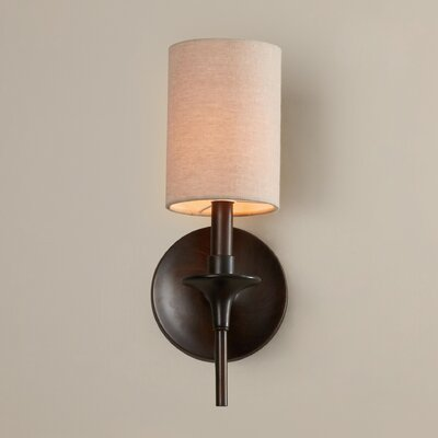 Foland 1-Light Wall Sconce Finish: Burnt Sienna