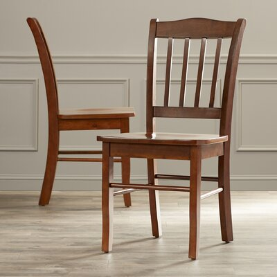 Windham Dining Chairs Finish: Walnut