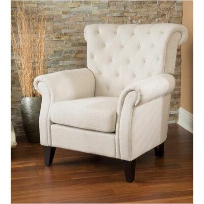 Alcott Hill Jaymee Tufted Upholstered Arm Chair