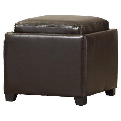 Reeves Ottoman Upholstery: Brown
