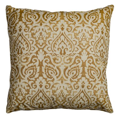 Godines 100% Cotton Throw Pillow Color: Gold