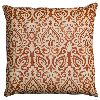 Godines 100% Cotton Throw Pillow Color: Orange