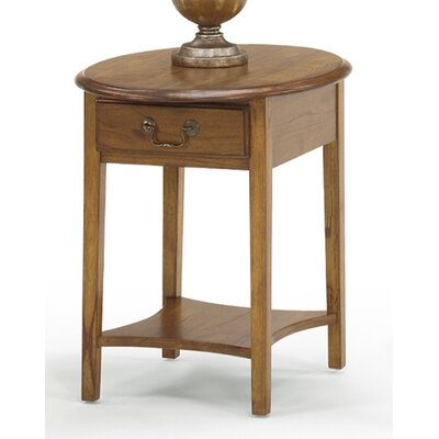 Revere End Table Color: Medium Oak