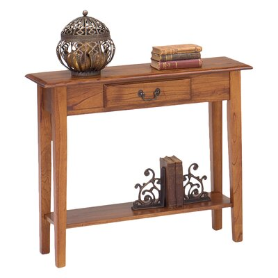 Revere Traditional Console Table Finish: Chestnut