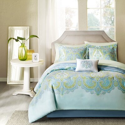 Dominick Comforter Set Size: Queen