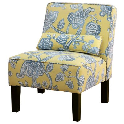 Thurston Slipper Chair Upholstery: Lovina Seaspray