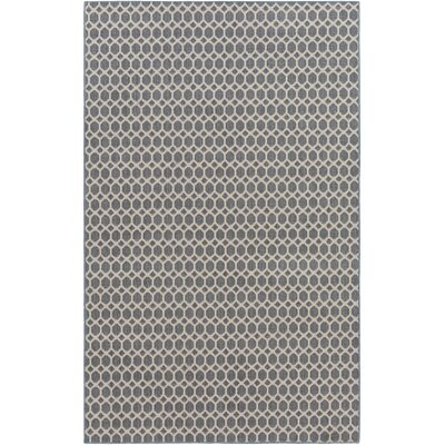 Casper Blue Indoor/Outdoor Area Rug Rug Size: 5 x 7