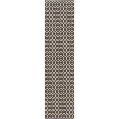 Casper Gray Indoor/Outdoor Area Rug Rug Size: Runner 2 x 8