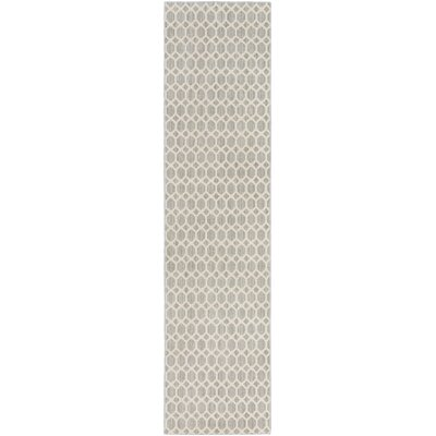 Casper Gray Indoor/Outdoor Area Rug Rug Size: Runner 2 x 10