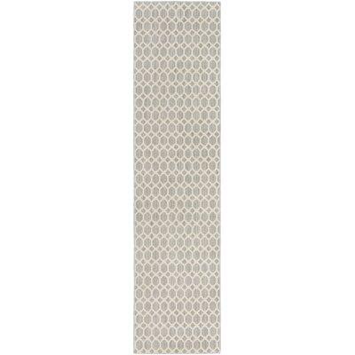 Casper Neutral Indoor/Outdoor Area Rug Rug Size: Runner 2 x 10