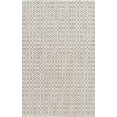 Casper Neutral Indoor/Outdoor Area Rug Rug Size: Round 10