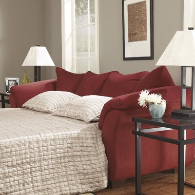 Huntsville Full Sleeper Sofa Upholstery: Salsa
