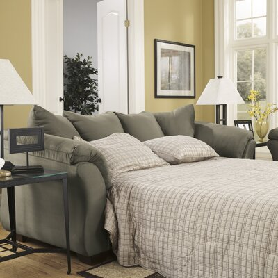 Huntsville Full Sleeper Sofa Upholstery: Sage