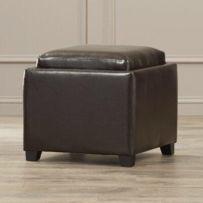 Ashbury Ottoman Upholstery: Brown