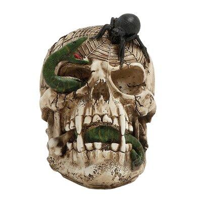 Halloween Skull Figurine