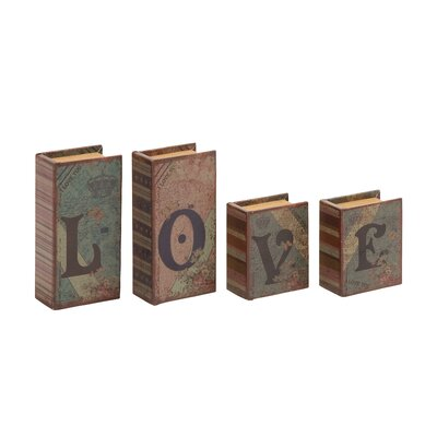 Downer 4 Piece Love Written Book Box Set