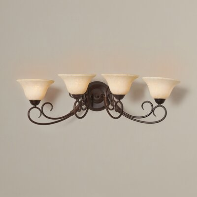 Gaines 4-Light Vanity Light