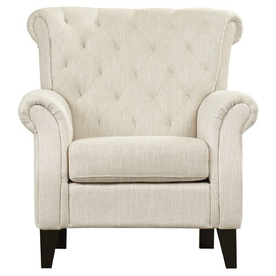 Jaymee Arm Chair Upholstery: Beige