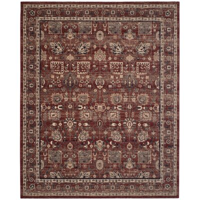Fleetwood Rust Area Rug Rug Size: Rectangle 8 x 10
