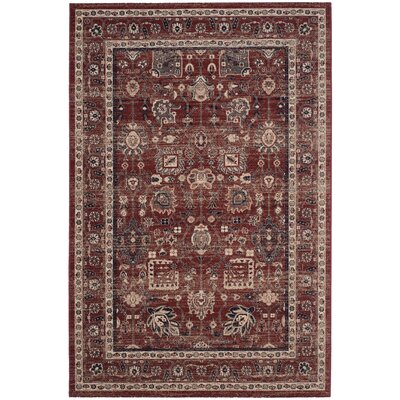 Fleetwood Rust Area Rug Rug Size: Rectangle 51 x 76
