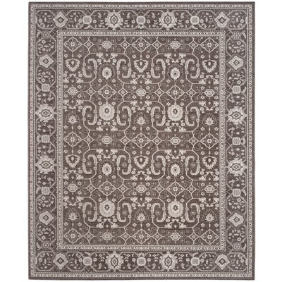 Fleetwood Brown Area Rug Rug Size: Rectangle 8 x 10