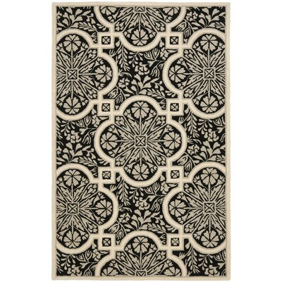 French Hand-Woven Area Rug Rug Size: 5 x 8