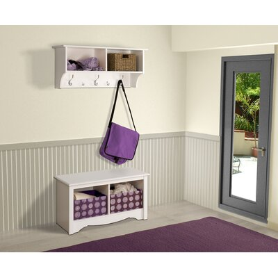 Nelson Alcott Hill Wall Mounted Coat Rack