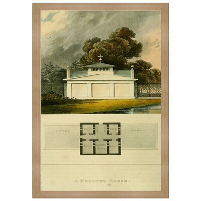 Poultry House Framed Painting Print