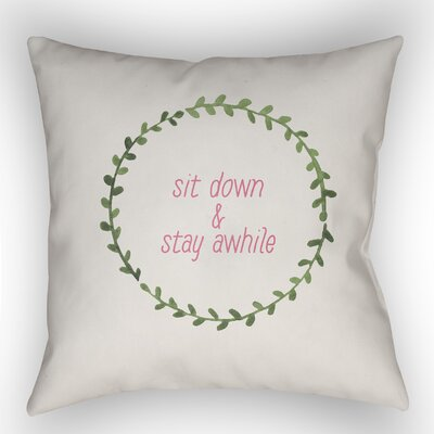 Lyle Indoor/Outdoor Throw Pillow Size: 20 H x 20 W x 4 D