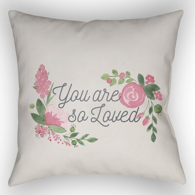 Lyle Indoor/Outdoor Throw Pillow Size: 18 H x 18 W x 4 D