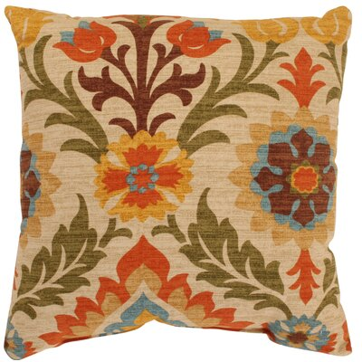 Rockhill 100% Cotton Throw Pillow Size: 24.5 H x 24.5 W