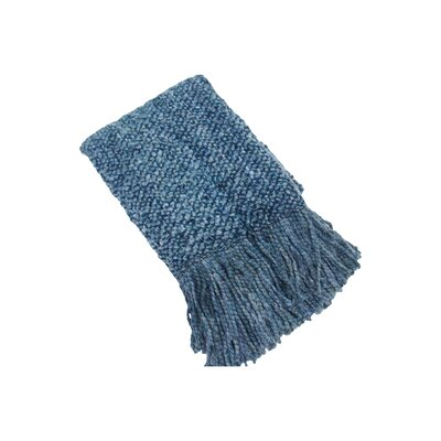 Beachmount Decorative Throw Color: Denim