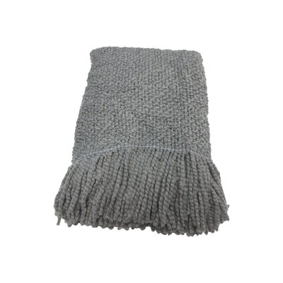 Beachmount Decorative Throw Color: Gray
